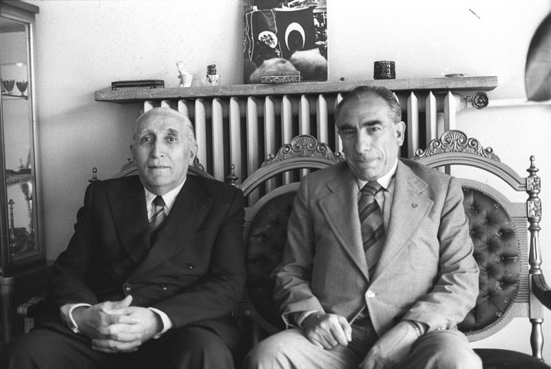 Osman Bölükbaşı – Alparslan Türkeş